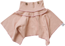 Organic Pink Rose Skirt Dress Combo