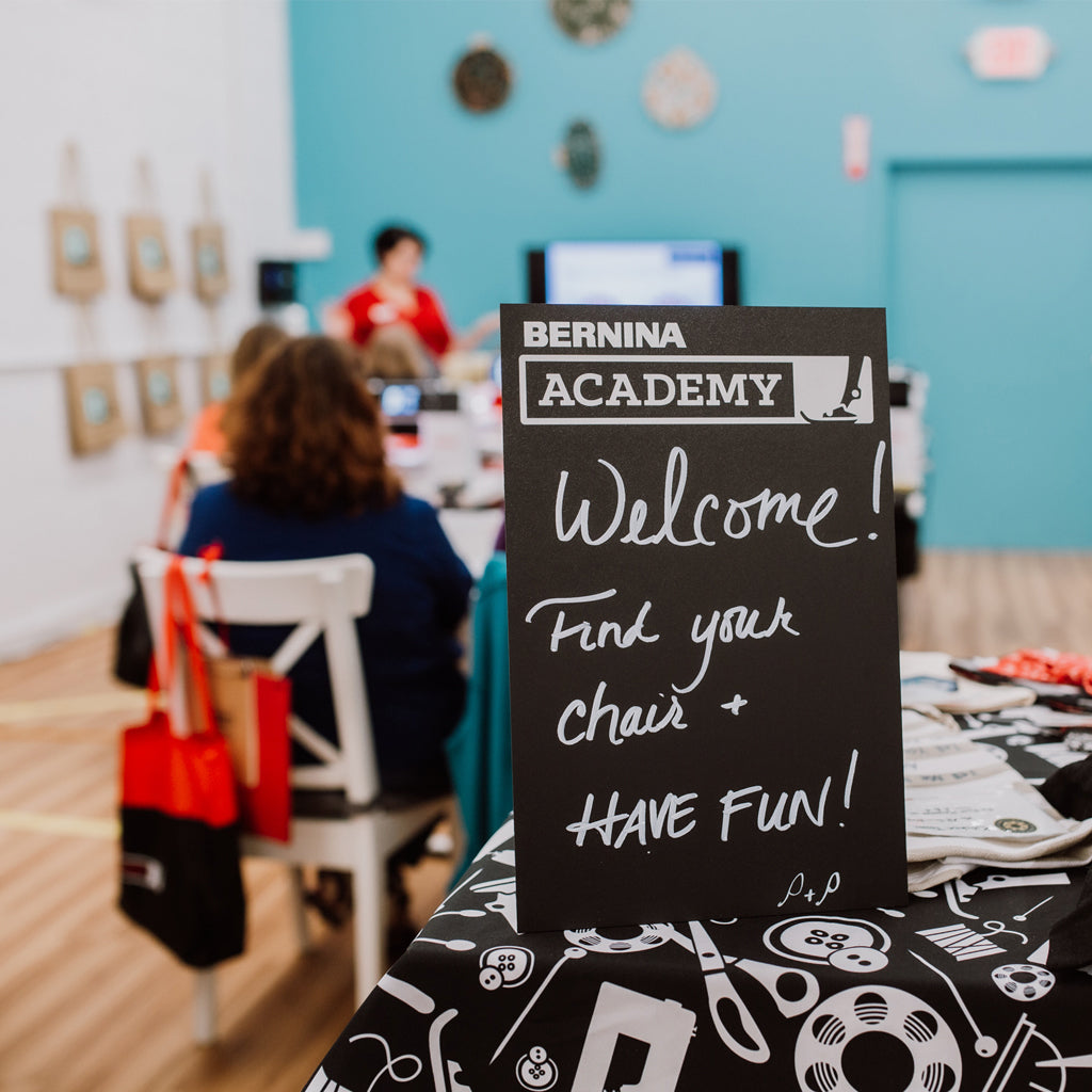 BERNINA Academy III:  Finding Your Sewing Identity