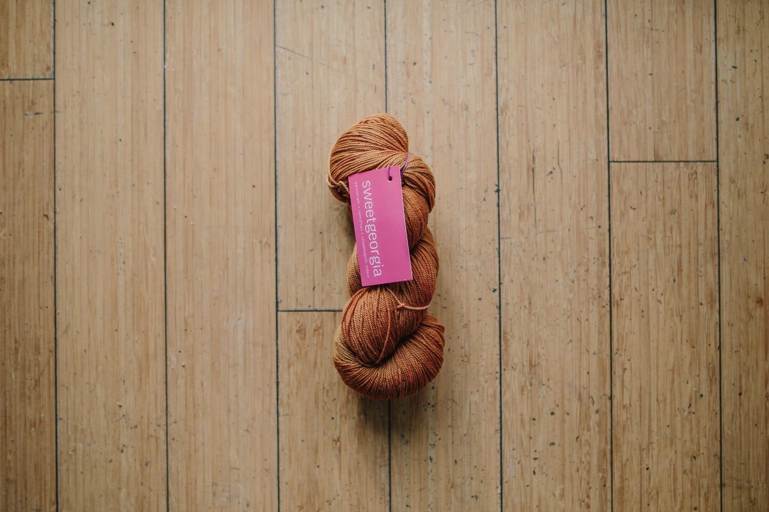 Sweet Georgia Tough Love Sock Ginger