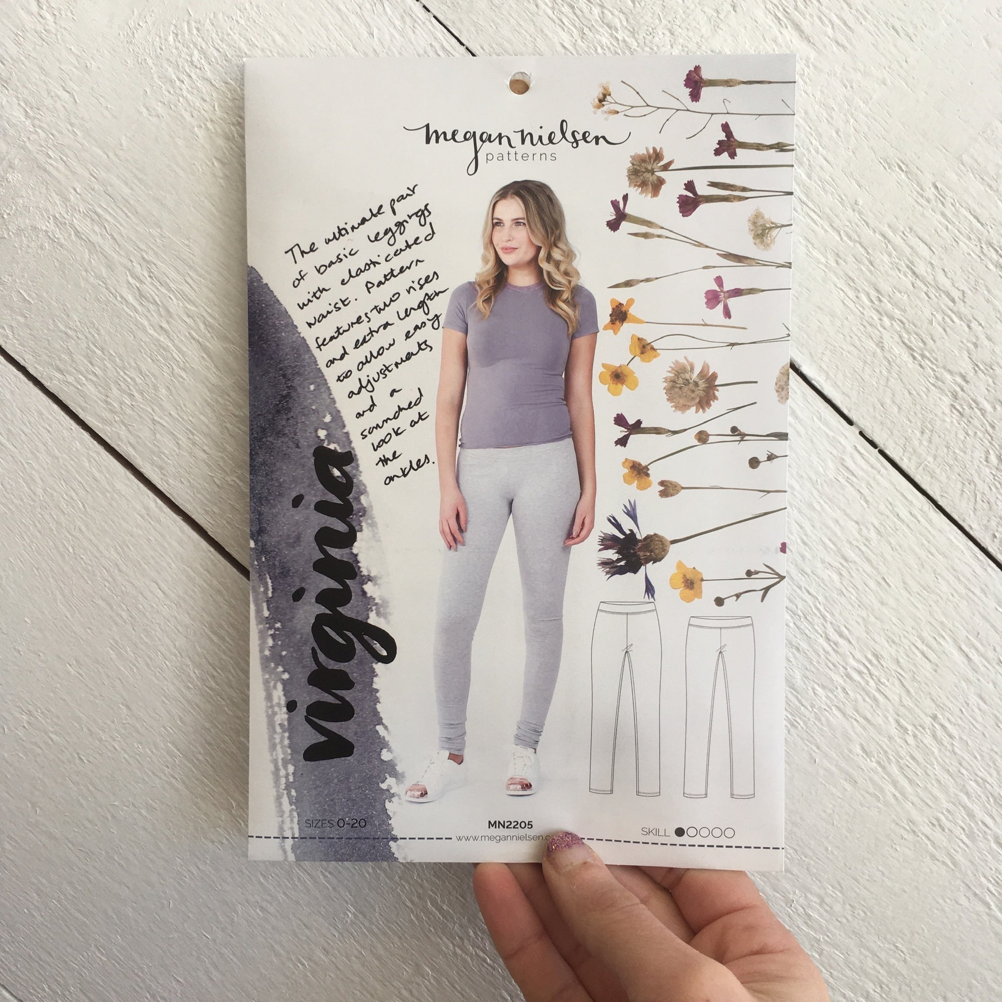 Virtual Garment 208: Virgina Leggings 12/04