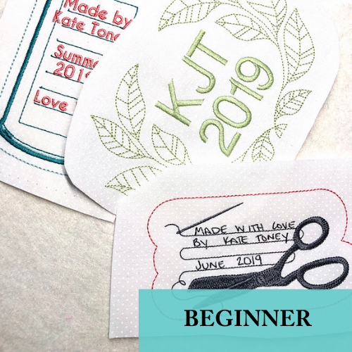 05/11 Virtual How to Machine Embroider a Quilt Label