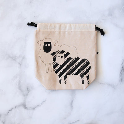 Drawstring Bag - Sheep