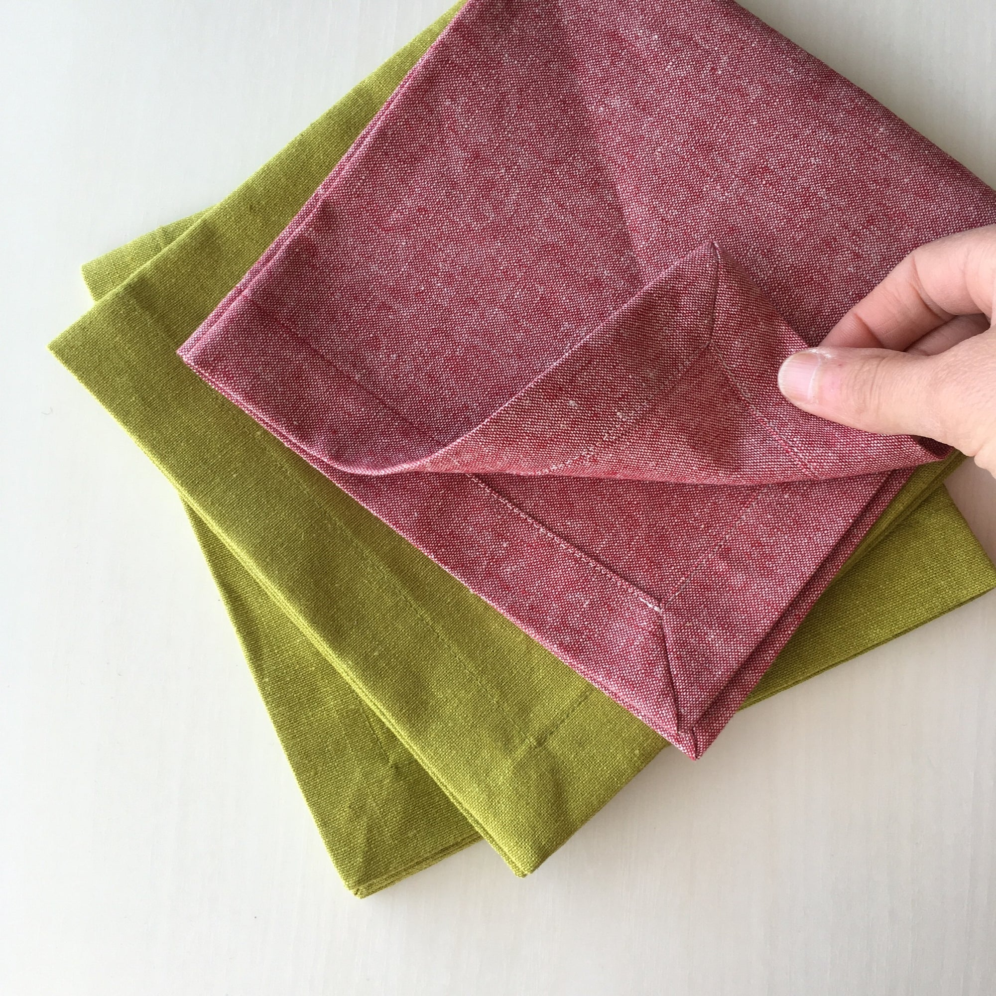 Sewing 105: Mitered Corner Napkins 03/28