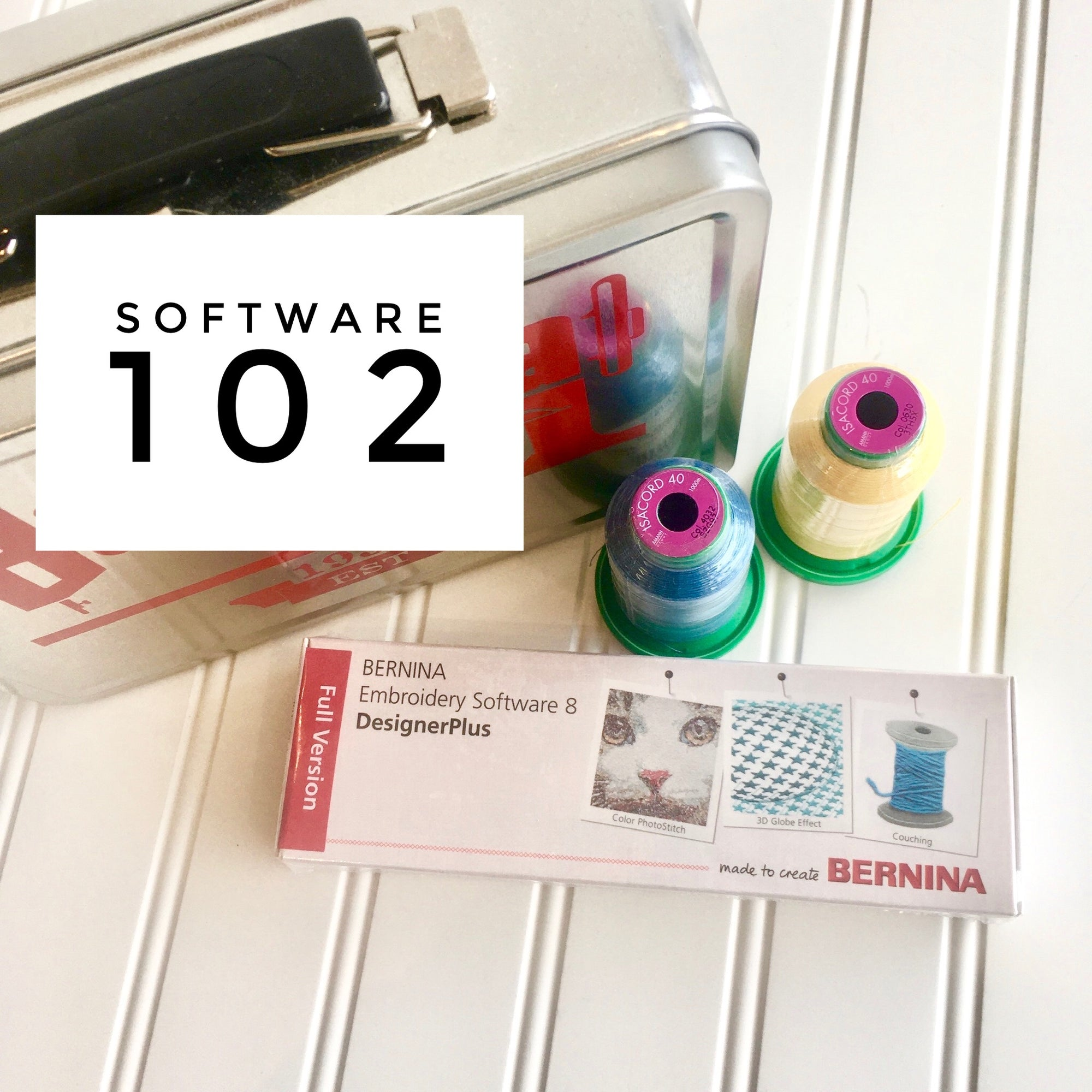 BERNINA V8 Software Basics II 02/01