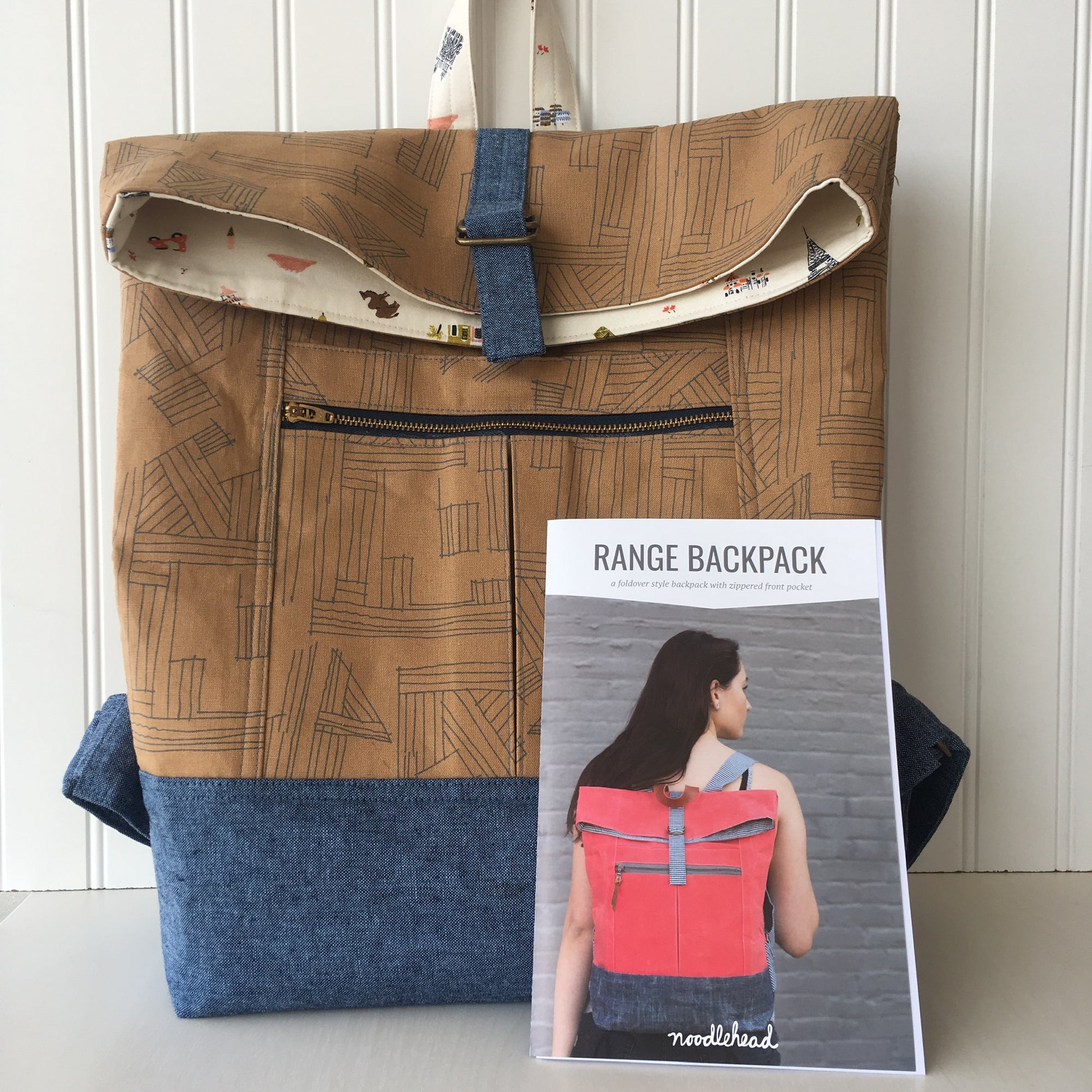 Sewing 302: Range Backpack 08/03 + 08/17