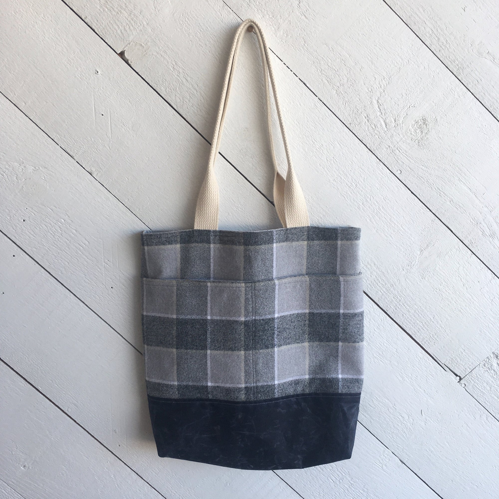 Sewing 106: Wool + Wax Tote 04/11