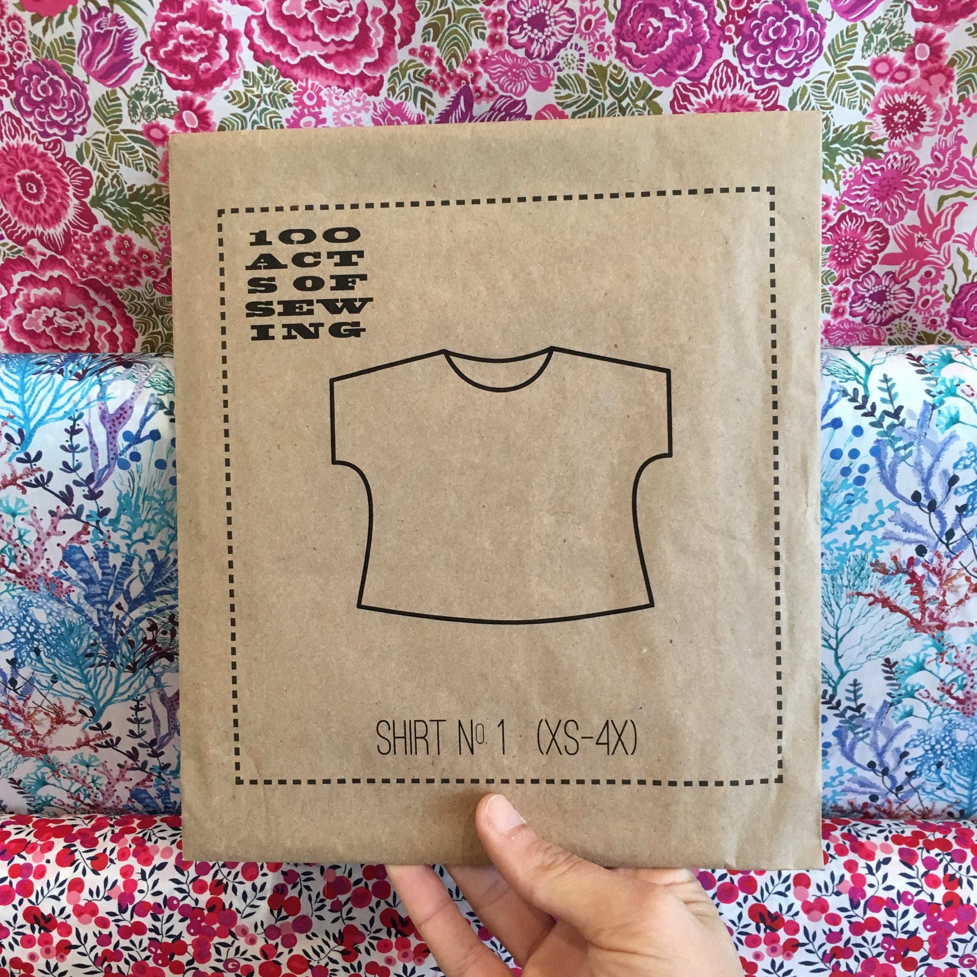Garment 101: Shirt No. 1 - 07/13 + 07/27