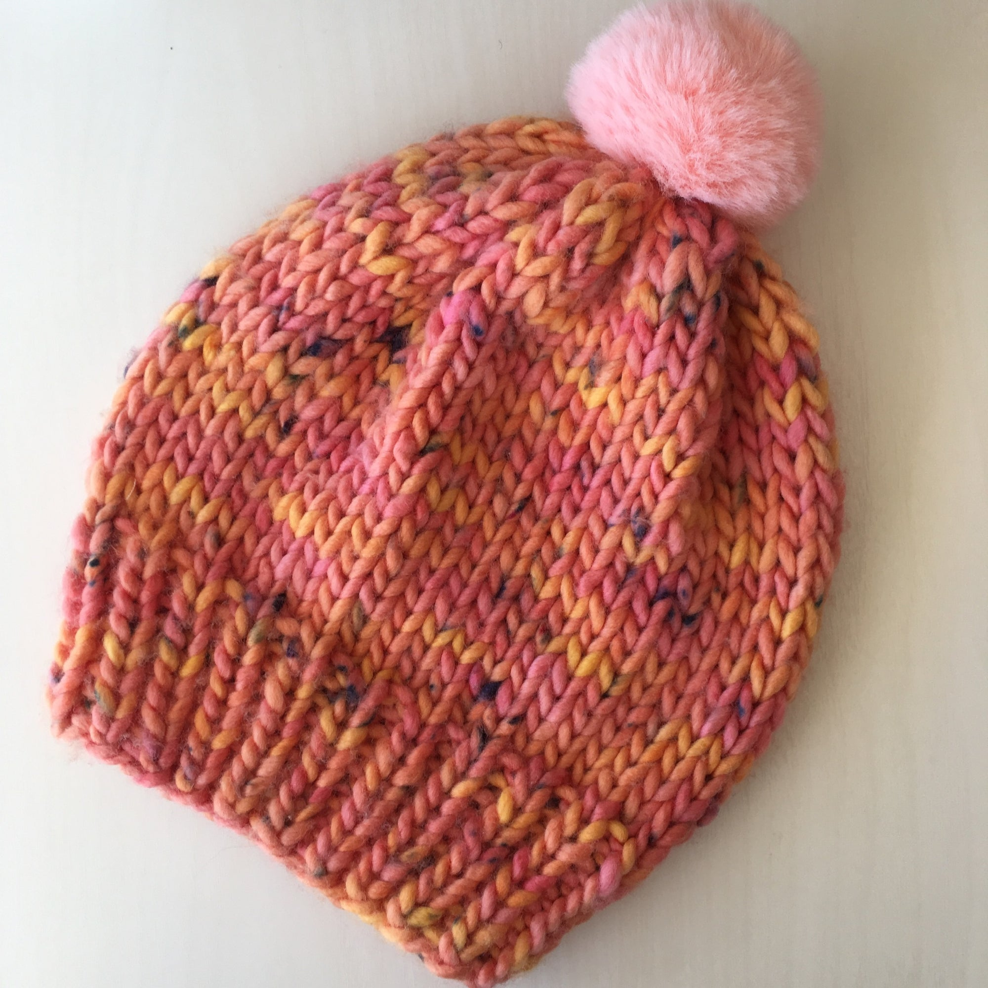 Knitting 102: Big Wool Hat 02/02 + 02/16