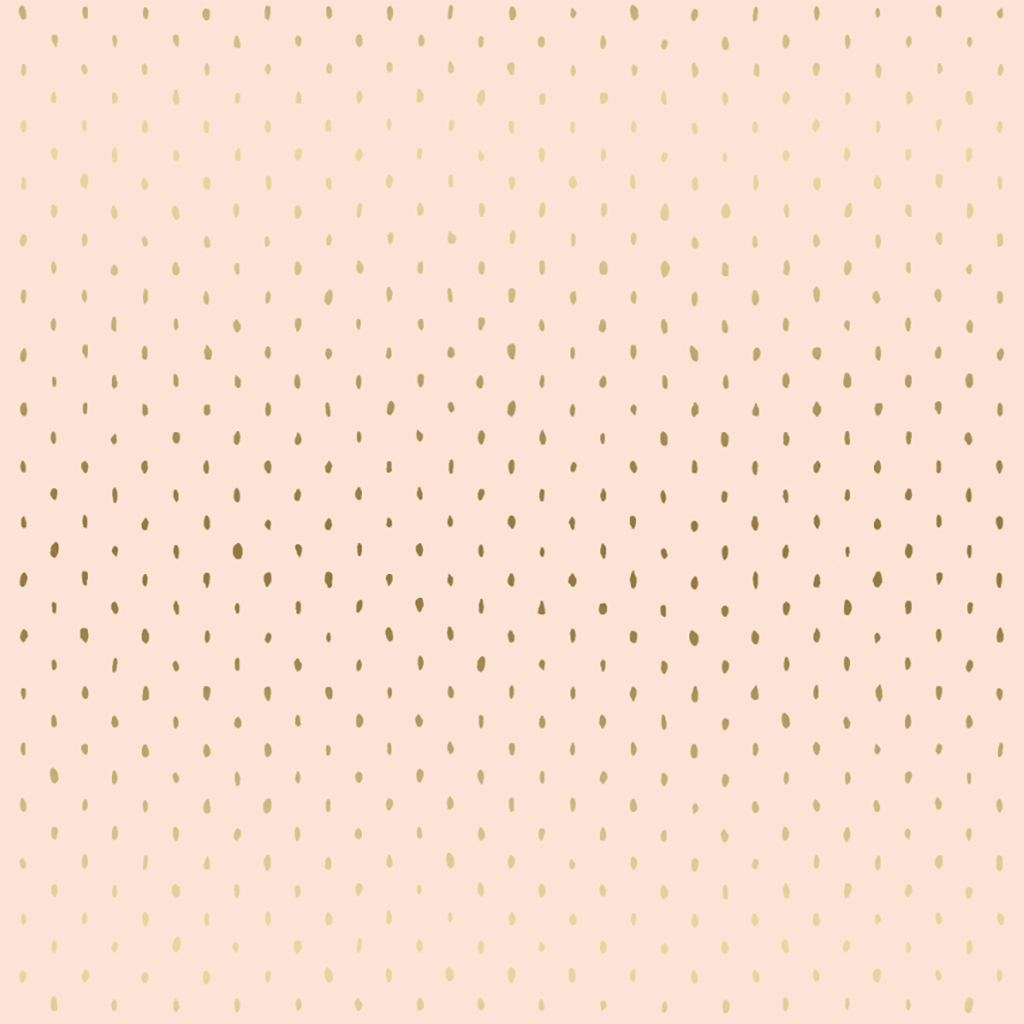 Stitch + Repeat Blush Metallic