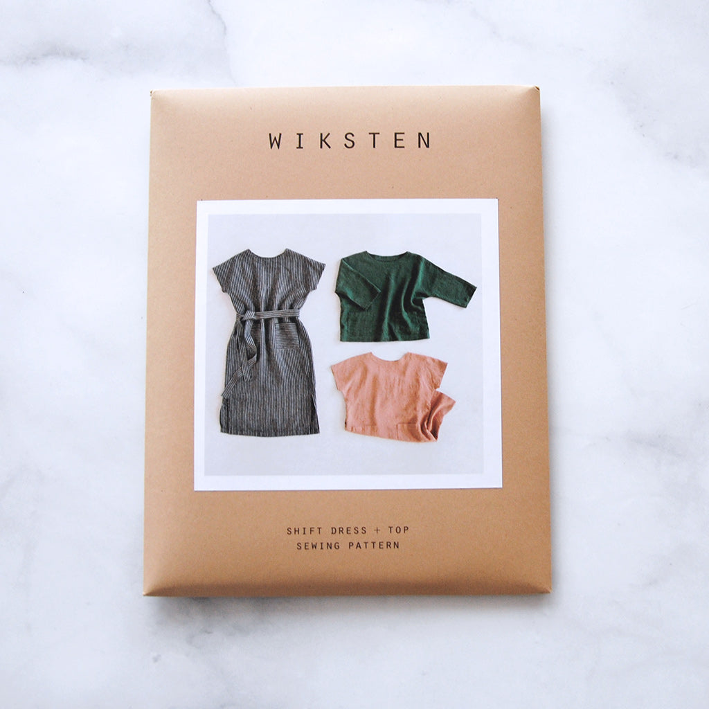 Wiksten shift dress and top, great for beginner sewing