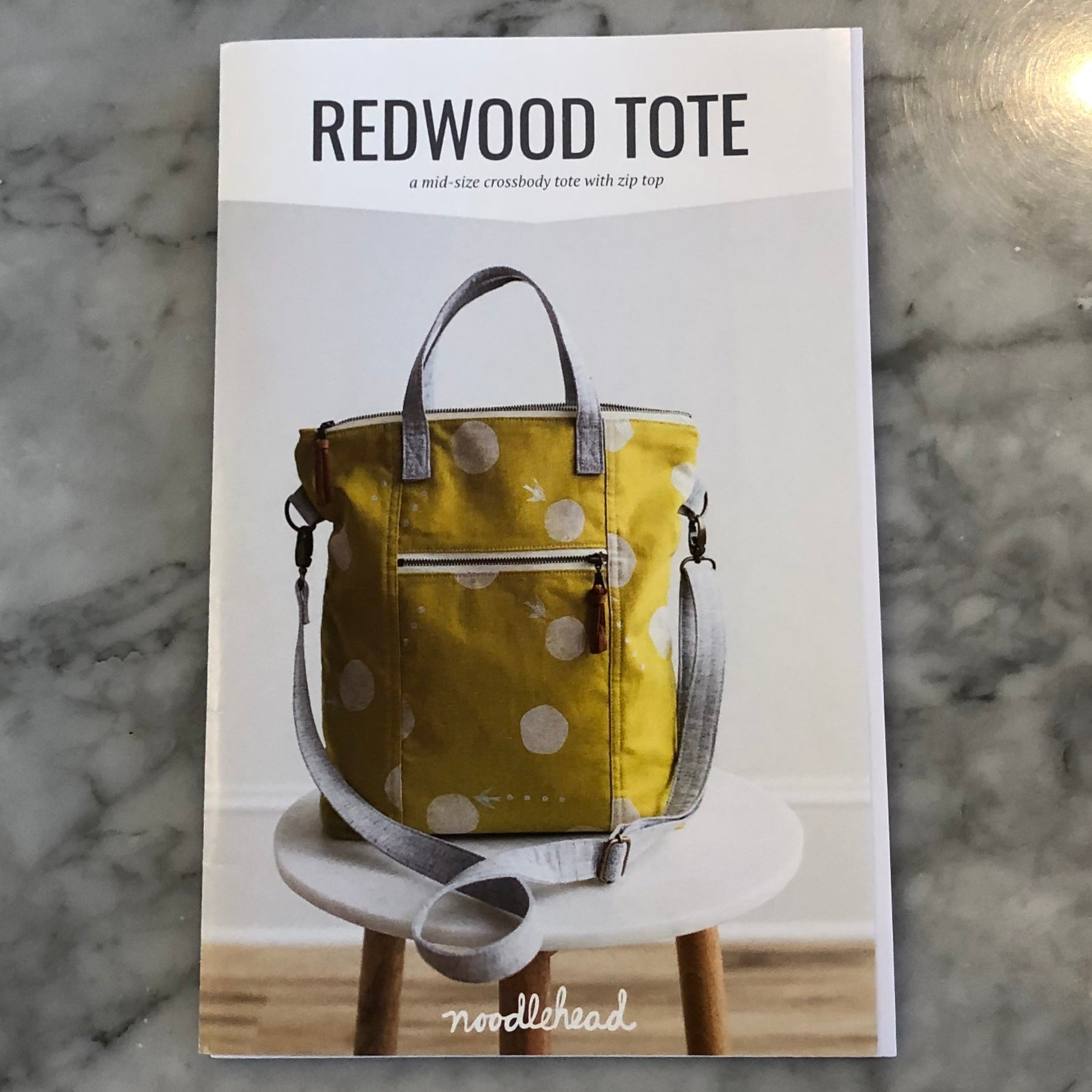 Sewing: Redwood Tote 01/05 + 01/12