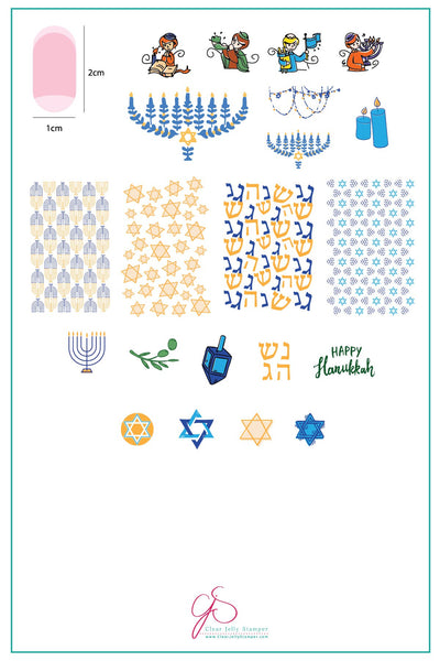 CJS C 28 HAPPY HANUKKAN