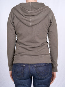 Women's Full Zip Hoodie in Heather