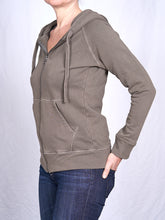 Load image into Gallery viewer, Women's Full Zip Hoodie in Heather