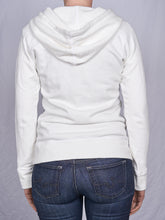 Load image into Gallery viewer, Women's Full Zip Hoodie in Natural White