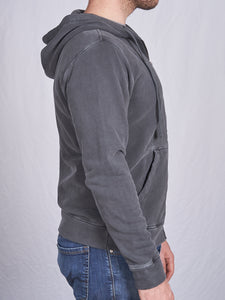 Men's Full Zip Hoodie in Slate