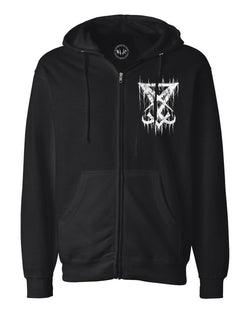 Nocturnal Zip Up Sweatshirt