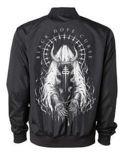Infernal Unisex Zip Up Bomber Jacket