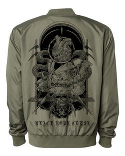 Mortality Unisex Zip Up Bomber Jacket