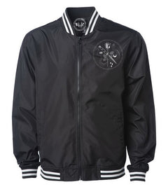 Reckless Unisex Zip Up Bomber Jacket