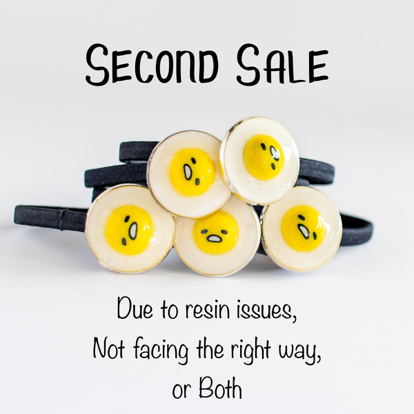 [SECONDS SALE] Lazy Egg Hair Tie