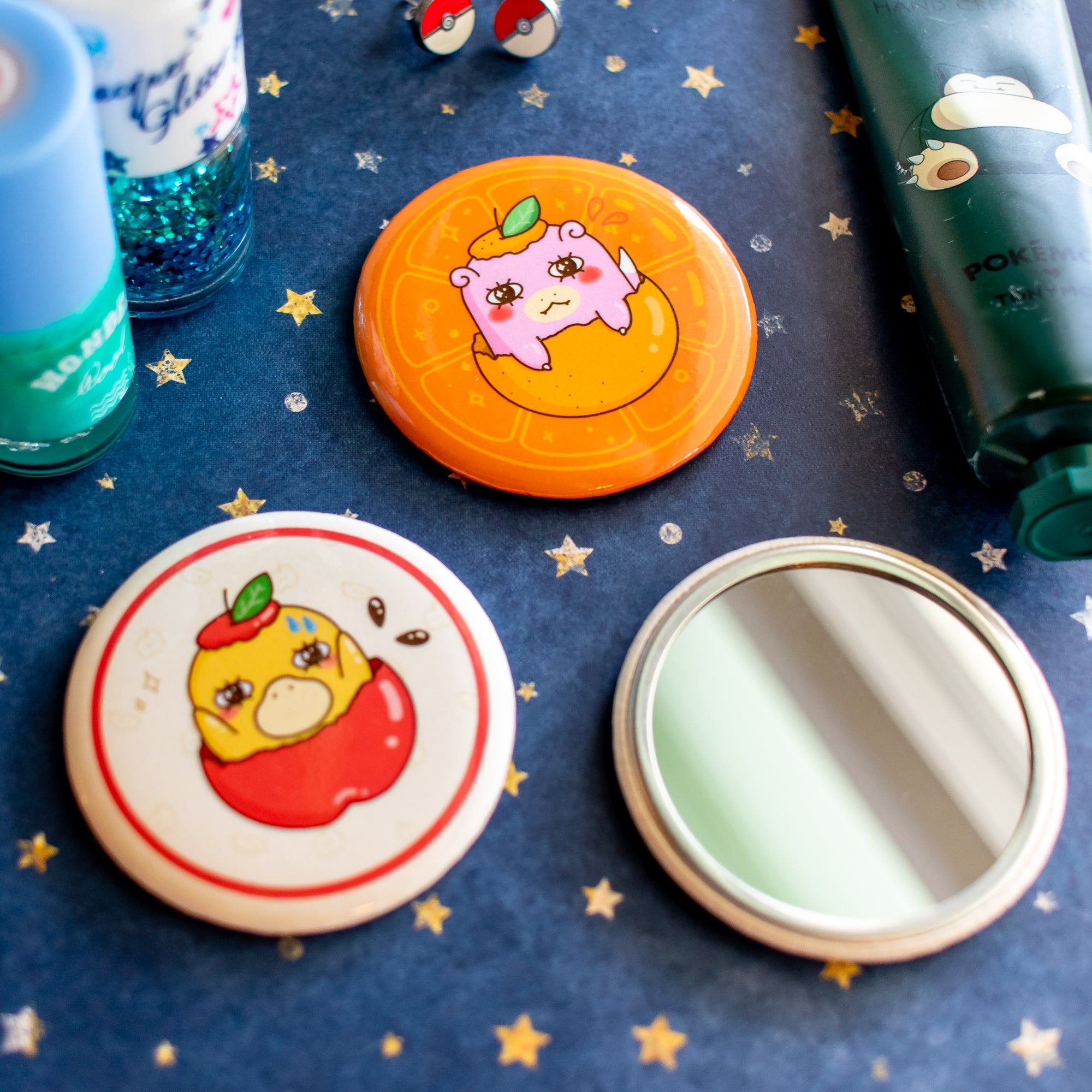 Fruit Pocket Mirrors