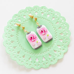 [SECOND SALE] 2% Beverage Earrings