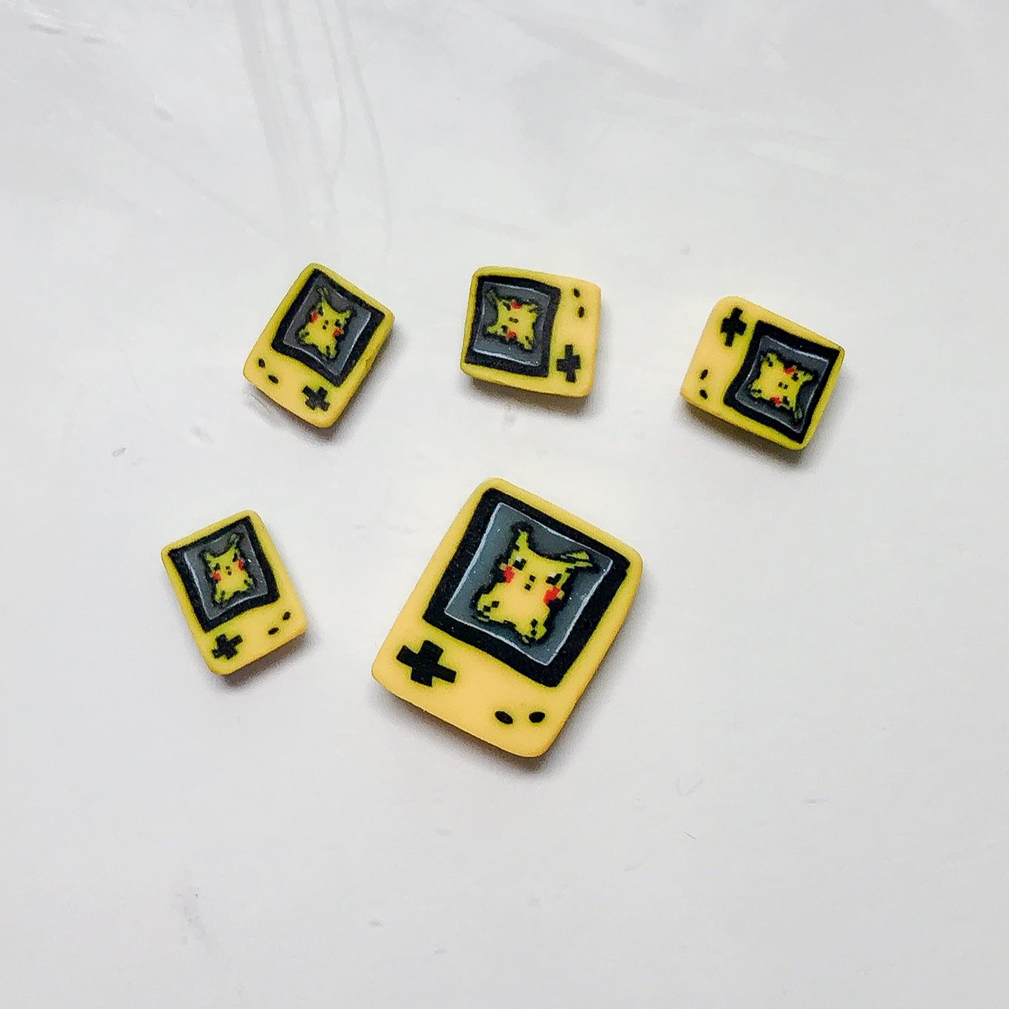 Gameboy Pikachu Cane Slices