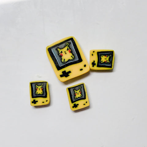 [SECOND SALE] Gameboy Pikachu Cane Slices