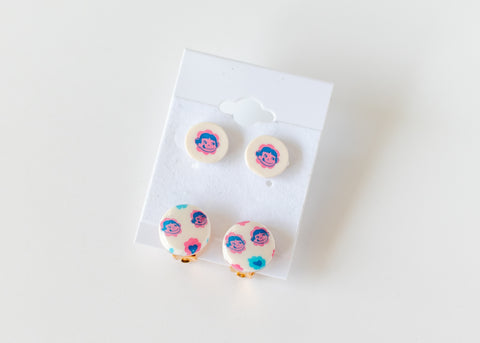 Peko chan Earrings