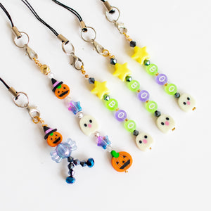 Halloween Bead Charms (Straps included)