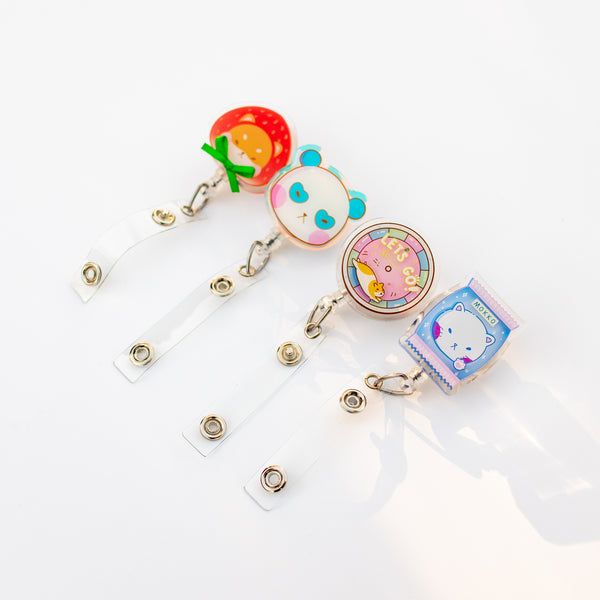 Cat Candy Badge Reel
