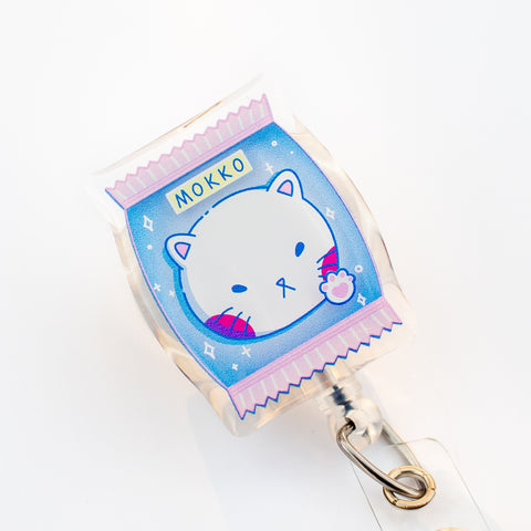 [SECOND SALE] Cat Candy Badge Reel