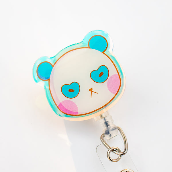[SECOND SALE] Ahn Panda Badge Reel