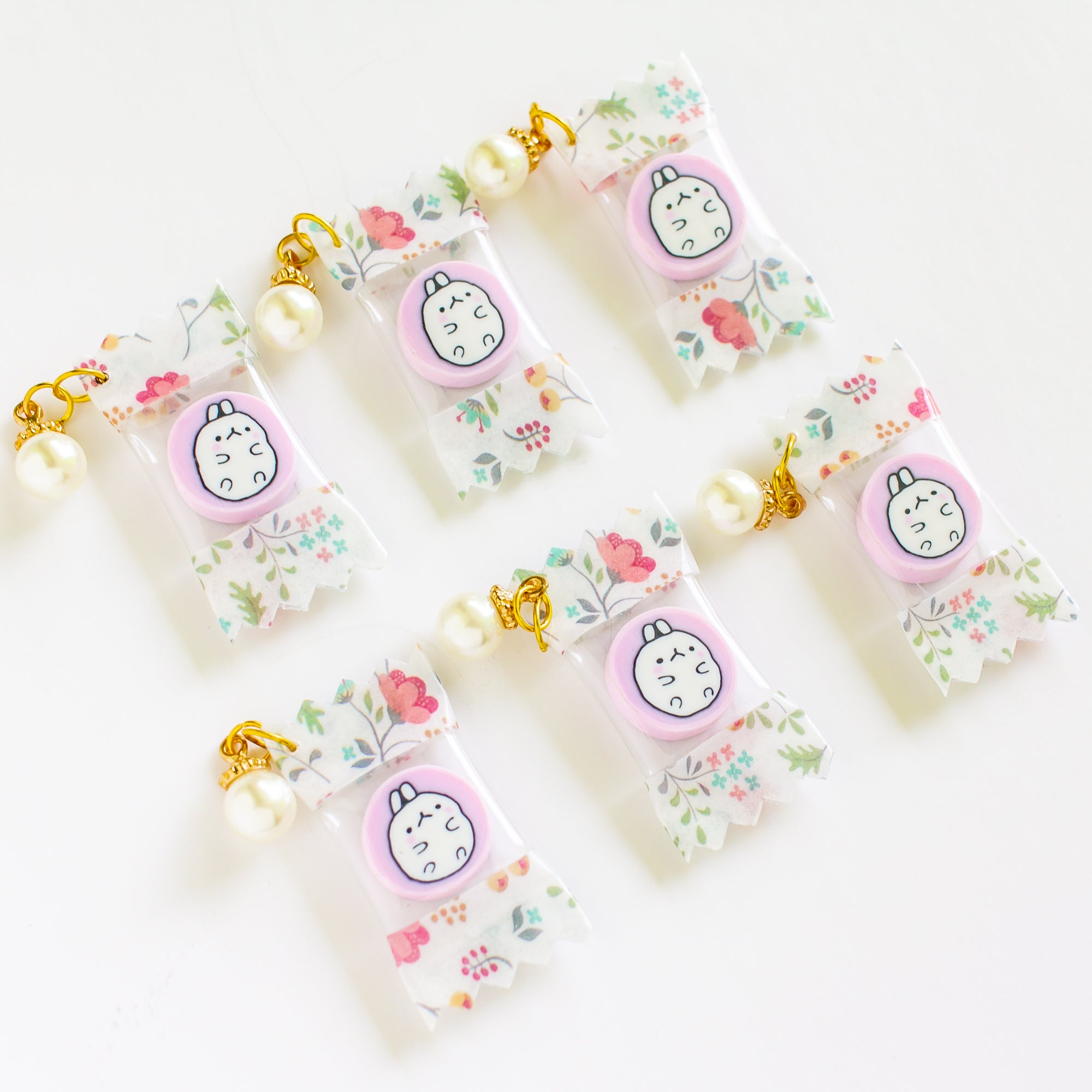 Molang Candy Charm