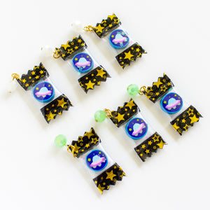UFO Candy Charm (White Bead ONLY)