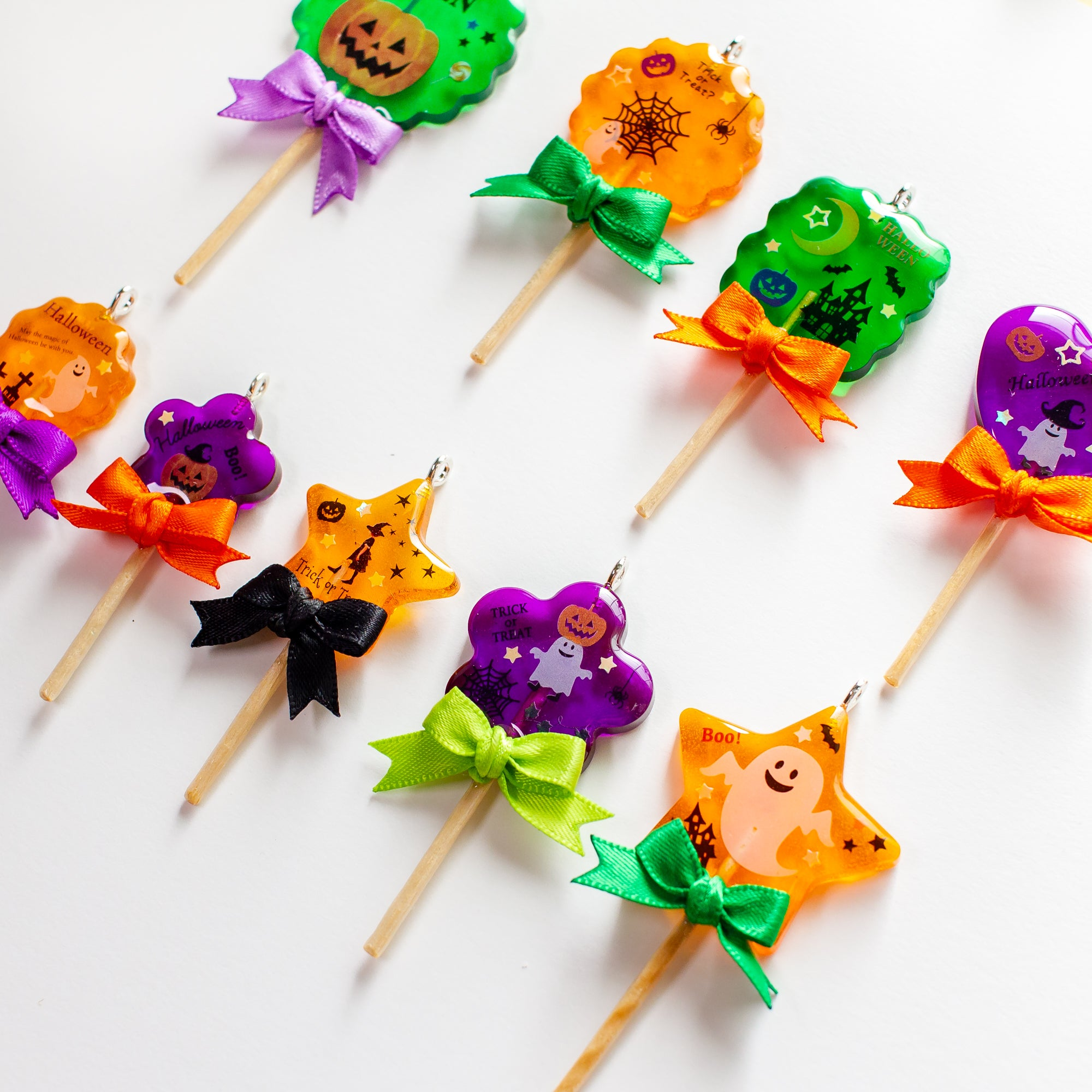 Halloween Lollipop Charms