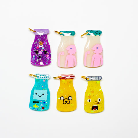 [SECOND SALE] Adventure Time Drink Charms
