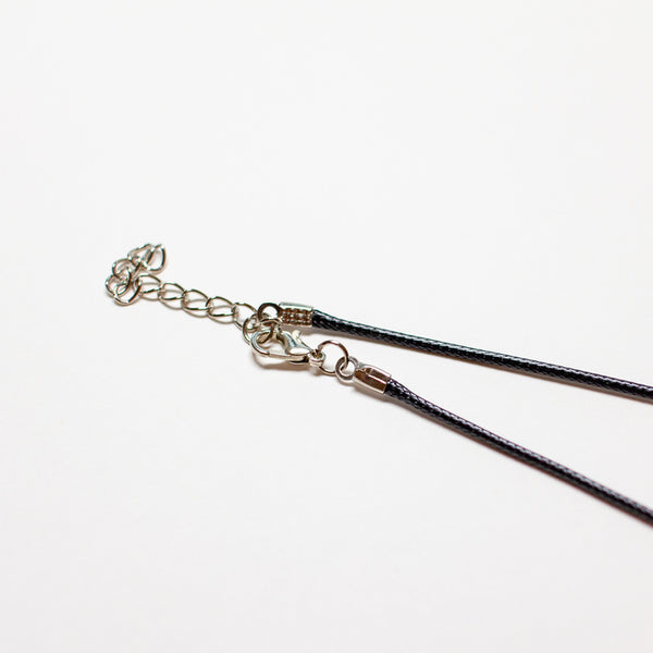 Leather Rope Necklace (2mm x 45cm)