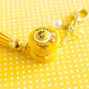 [CLEARANCE] Kakao Friends MUZI Macaron Charm/Key chain