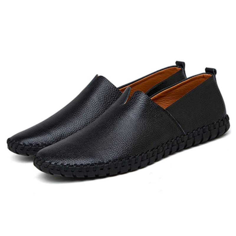 V-Cut Slip-On Shoes