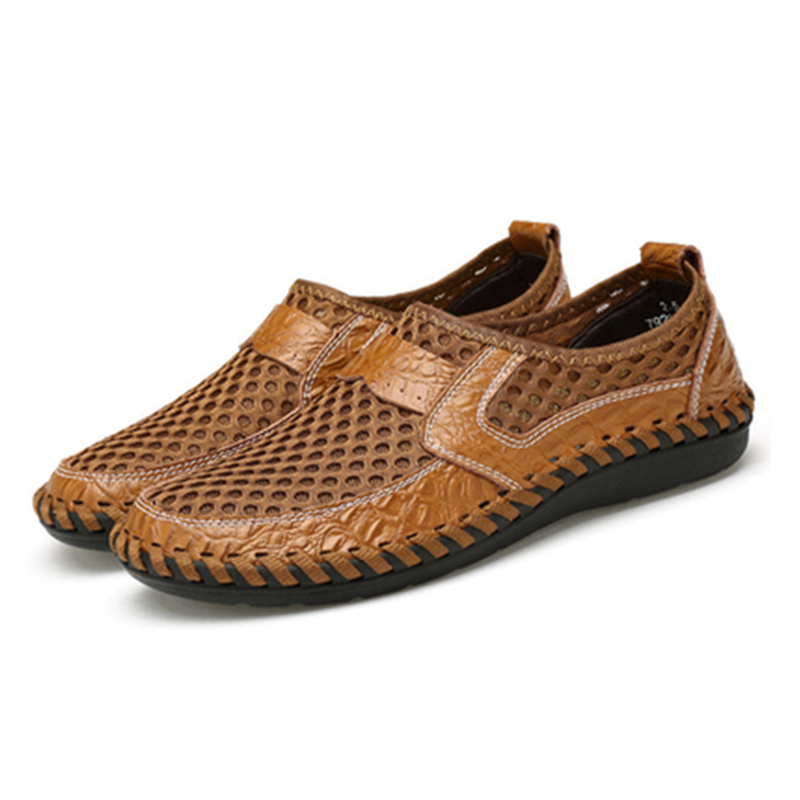 Honeycomb Soft Mesh Loafers