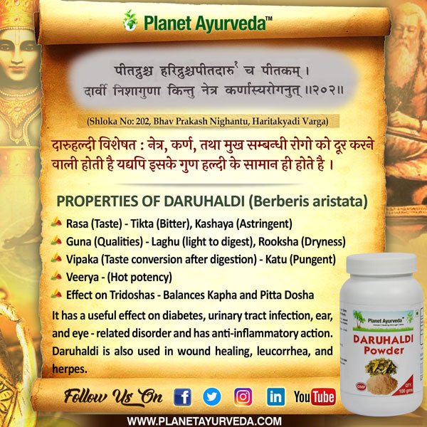 Classical Reference of daruhaldi