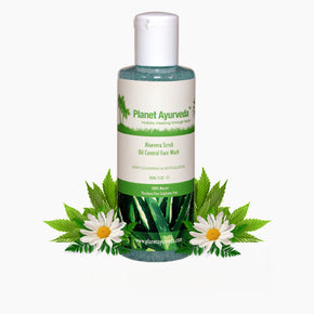 ALOEVERA SCRUB OIL CONTROL FACE WASH