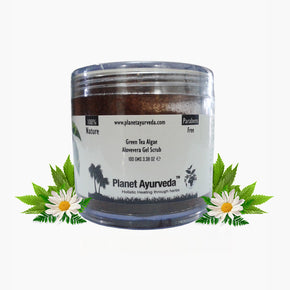GREEN TEA ALGAE ALOEVERA GEL SCRUB
