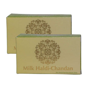 Milk Haldi-Chandan Soap (Pack of 2)