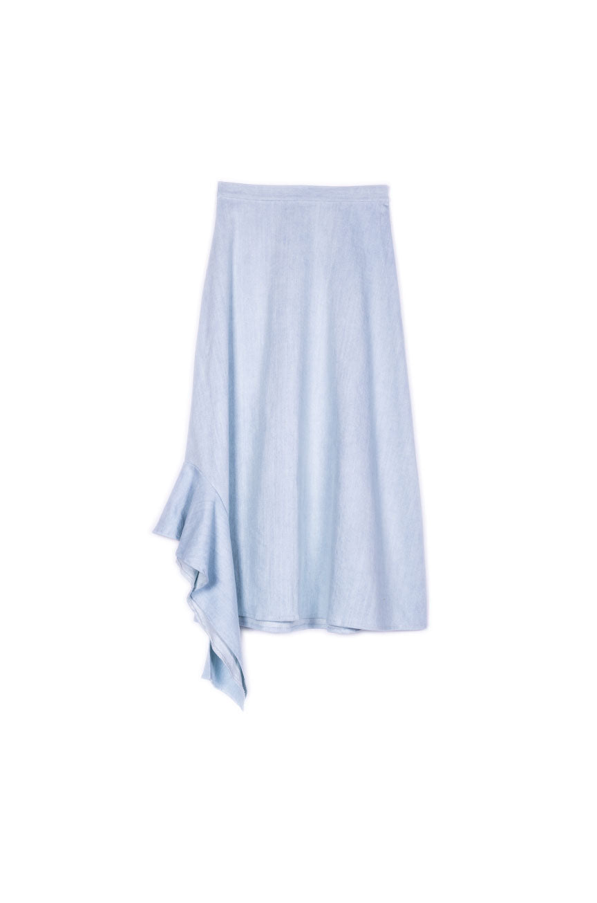 Claudia Skirt in Denim