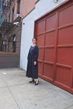 Load image into Gallery viewer, Jayme Dress in Navy Poplin