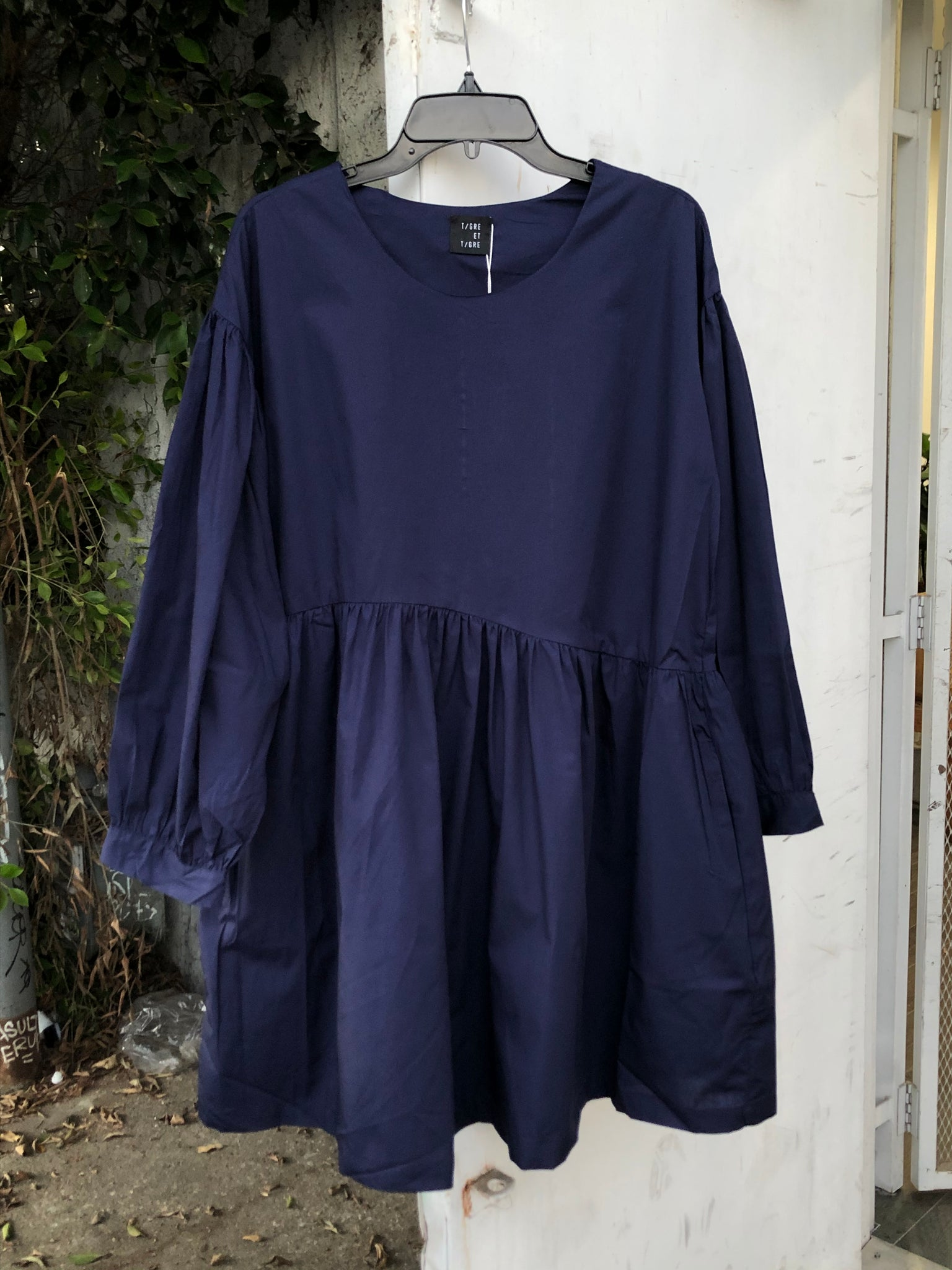 Jayme Dress (Short) in Navy