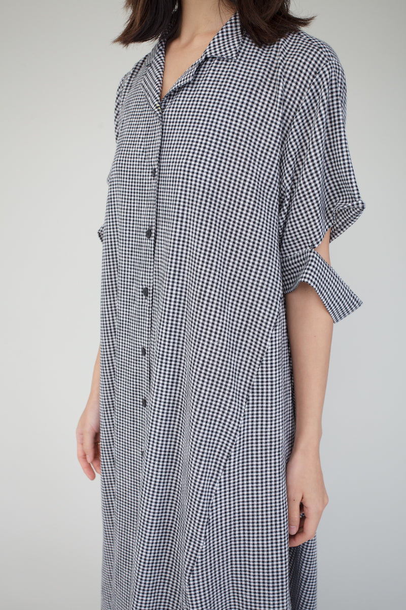 Aeva Dress in Gingham